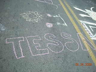Chalk on the block 006