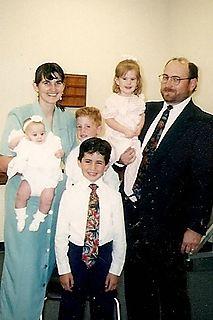 Tyson baptism day