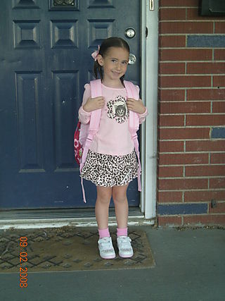 First day of school 001