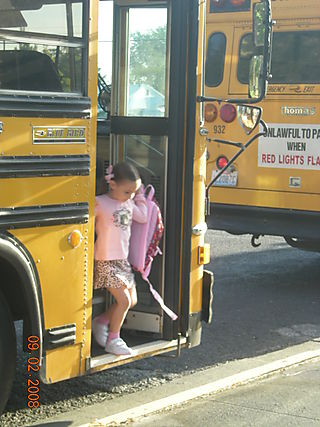 First day of school 002