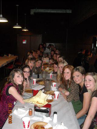 Drill team banquet 001